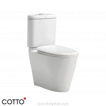 Bồn cầu 2 khối Cotto C17017 Space Solution
